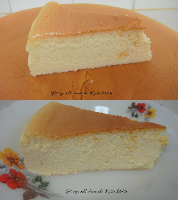 modified from Japanese Light Cheesecake from