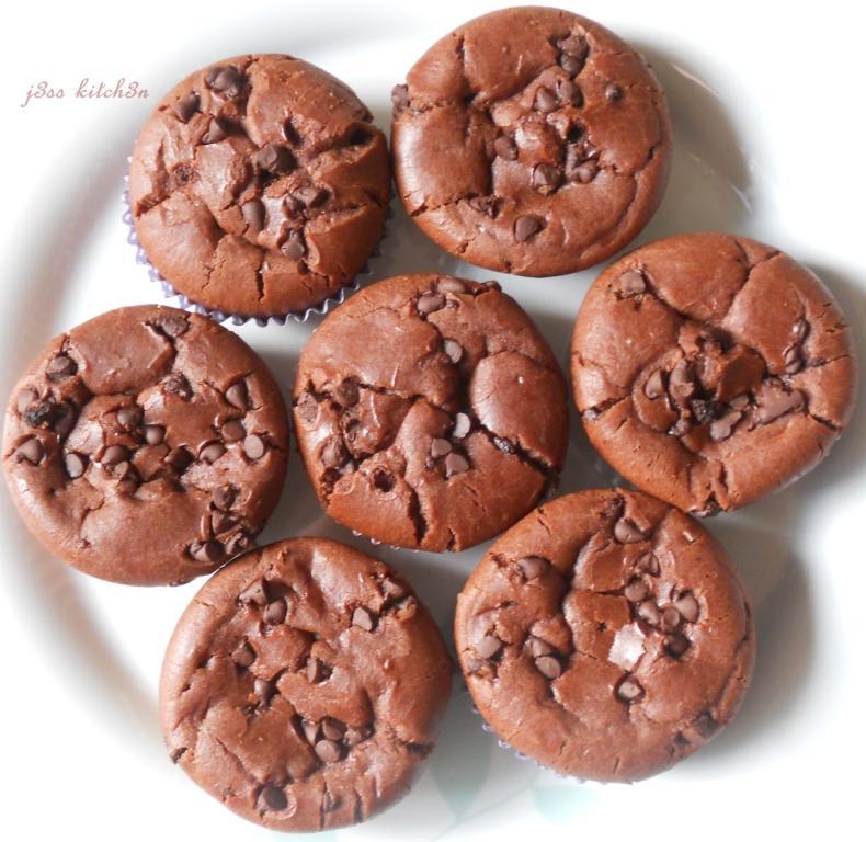 j3ss kitch3n: Chocolate Mochi Cakes