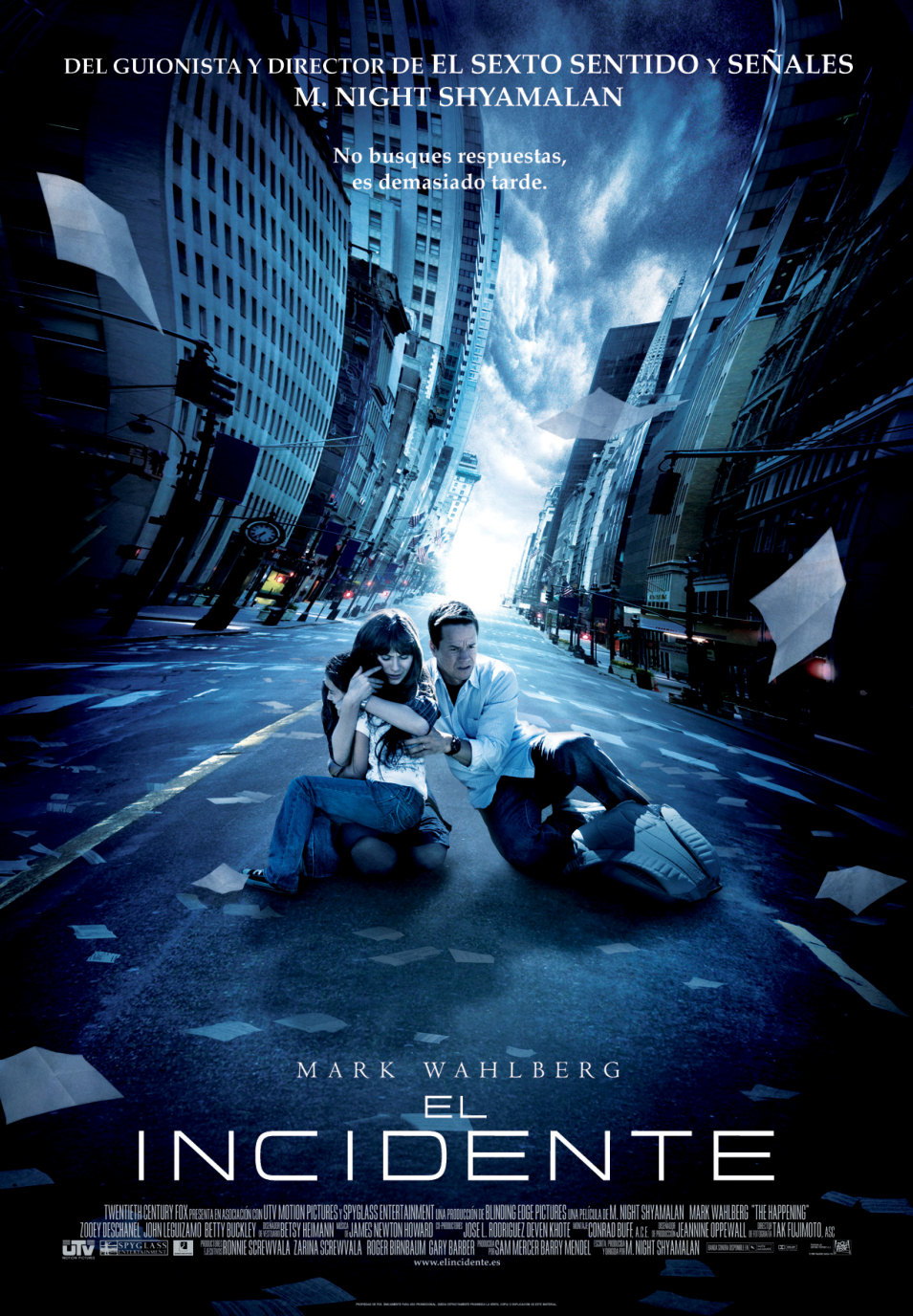 El Incidente (The Happening) (2008)