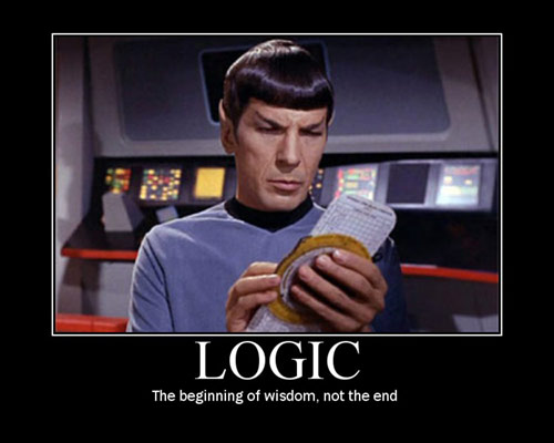 Mr Spock logical 