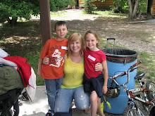 Logan at Diabetes Camp