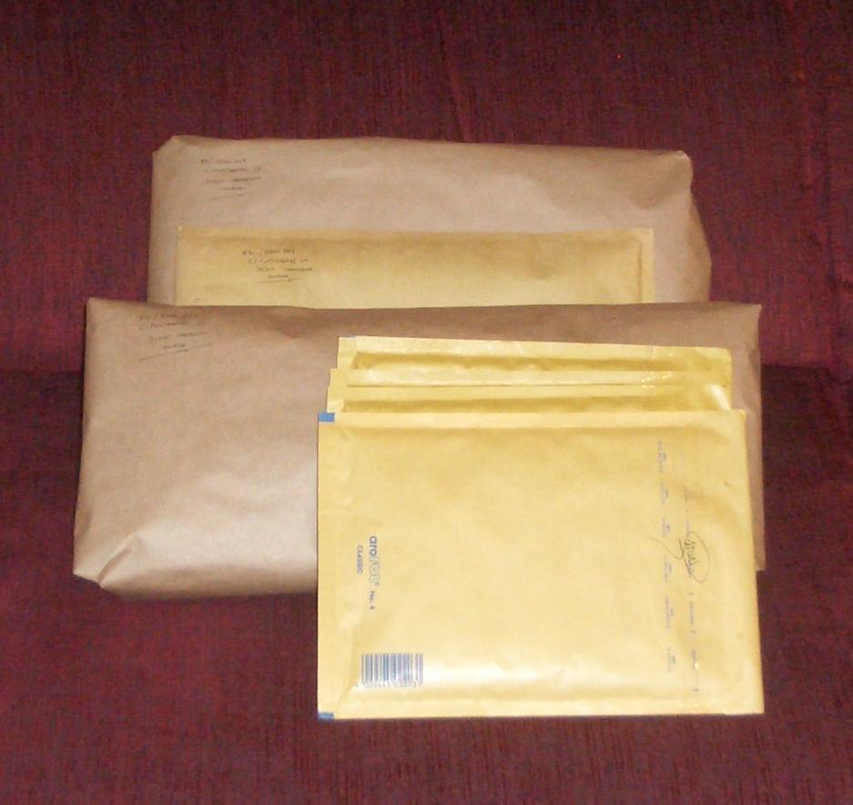 Uno de los paquetes ha llegado a su destino.
