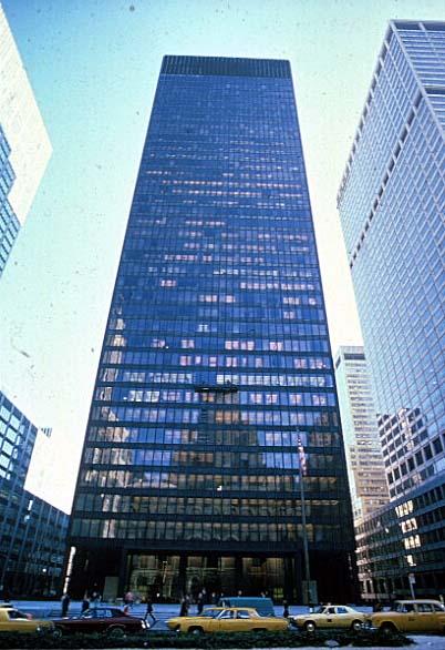SEAGRAM BUILDING EN NUEVA YORK