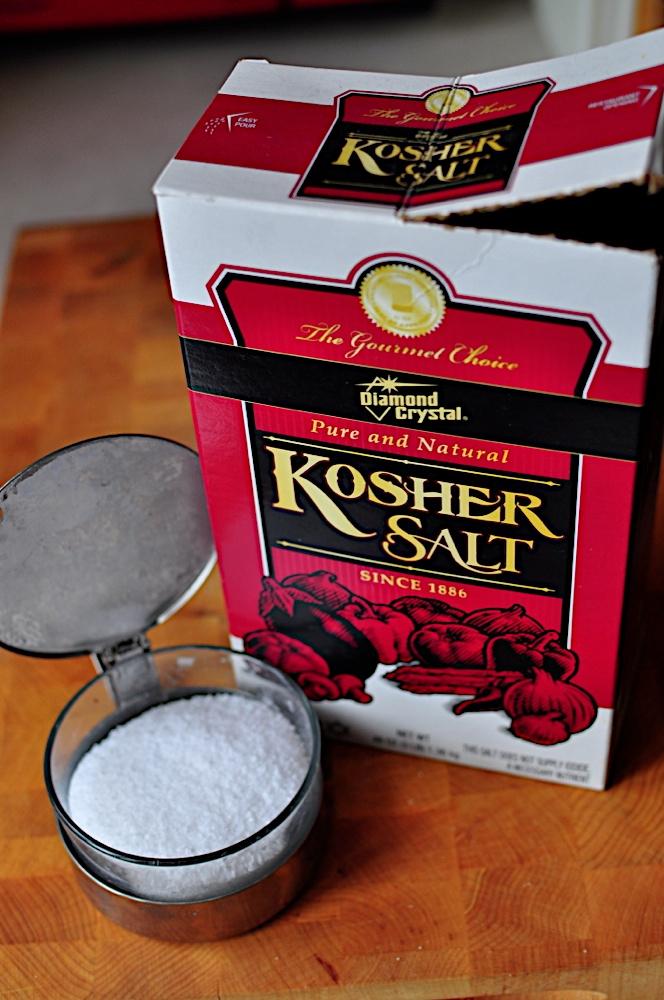 how to make kosher salt