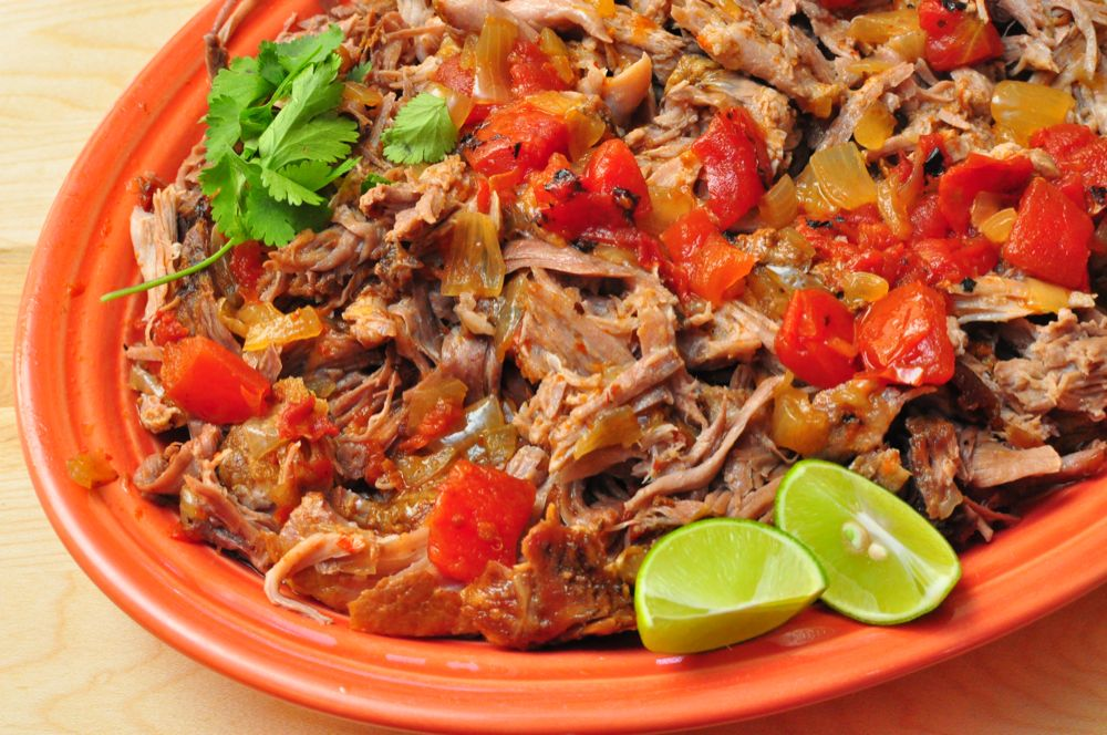 Slow Cooker Mexican Shredded Pork (Pork Tinga) | Dad Cooks Dinner