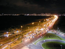 Camburi Beach - Night view