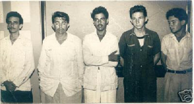 Hecho prisionero Raúl Castro después del Moncada
