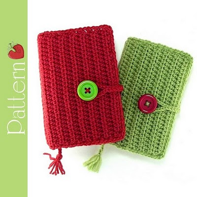 Easy Crochet Bible Cover Pattern : Red Berry Crochet: Crocheted Paperback Book Covers - a New ...