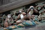 Le tre scimmie - mizaru, kikazaru e iwazaru
