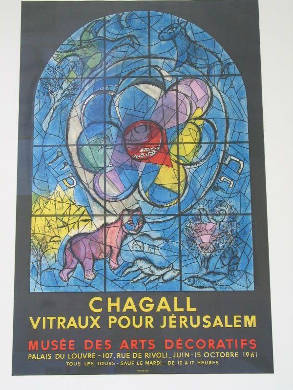 Chagall, poster raamschilderingen