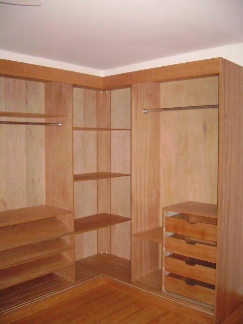 closet em madeira