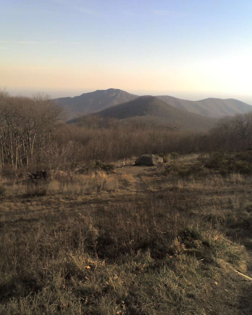 Hawksbill Cabin: A Fall View Of Old Rag