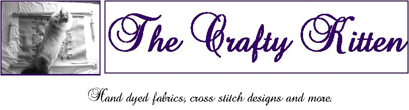 The Crafty Kitten Shop Blog