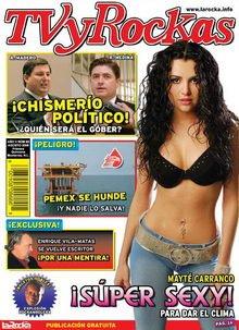 """Entrevista del periodico """"La Rocka"""" a Mayte Carranco"""
