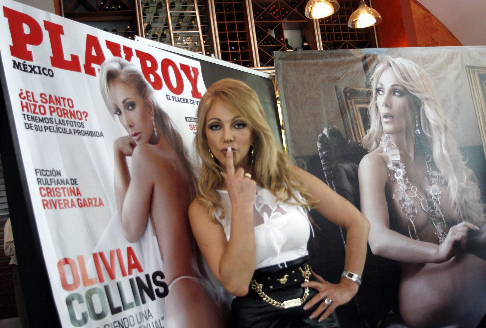 Olivia Collins Play Boy 2010