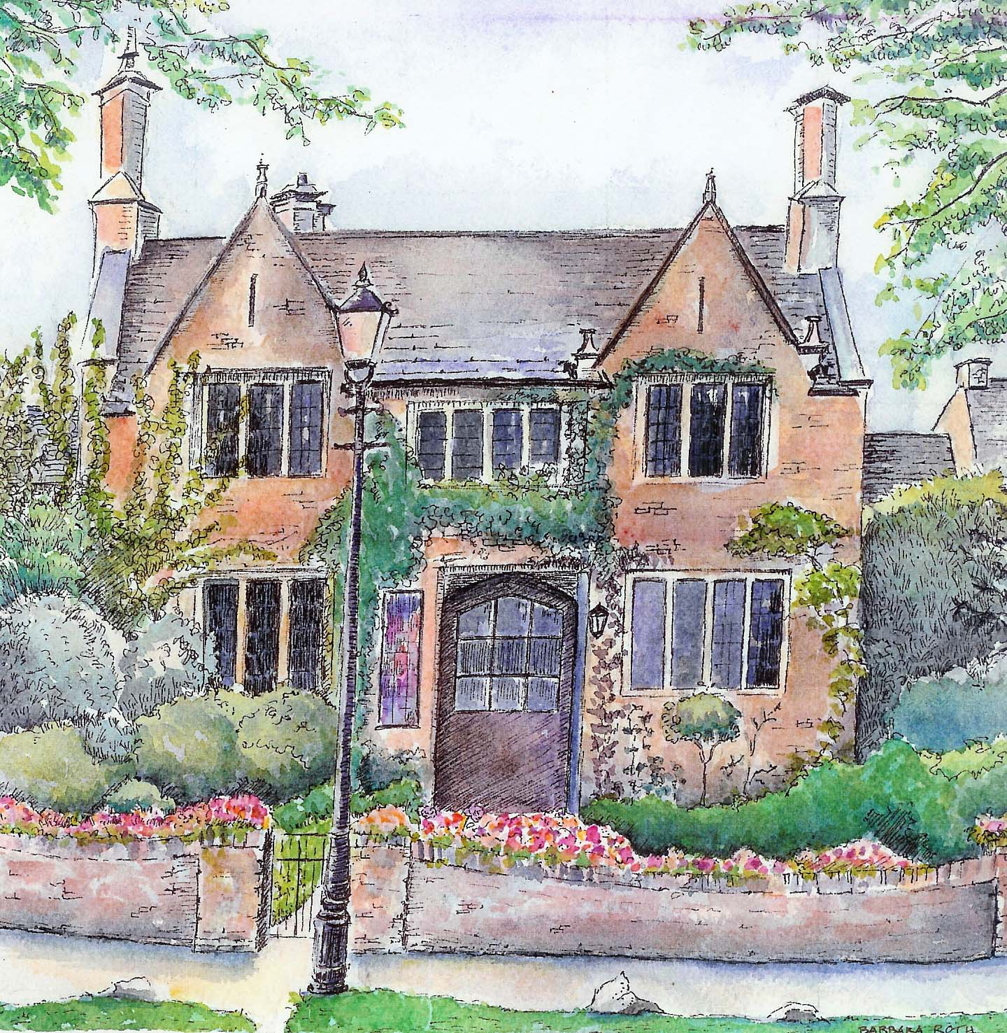 Anywhere art studio ruminations what do you think about painting english cottages - English cottage ...