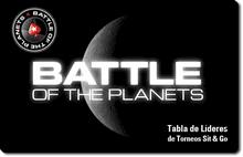 La batalla de los planetas