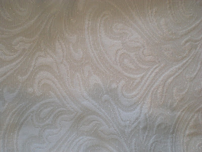 Silver Swirl Sparkle Table Cloth