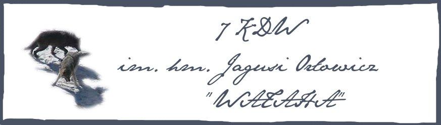 """7 KDW im. Jagusi Orłowicz """"Wataha"""""""