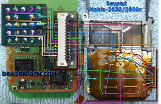 Jalur Keypad N2600c Dan N2630