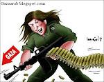 غزة بأقلام الكاريكاتير