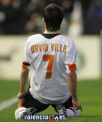 david villa valencia