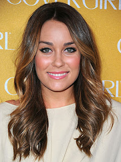 Lauren Conrad brunette hair