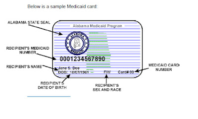 Medicaid ID card