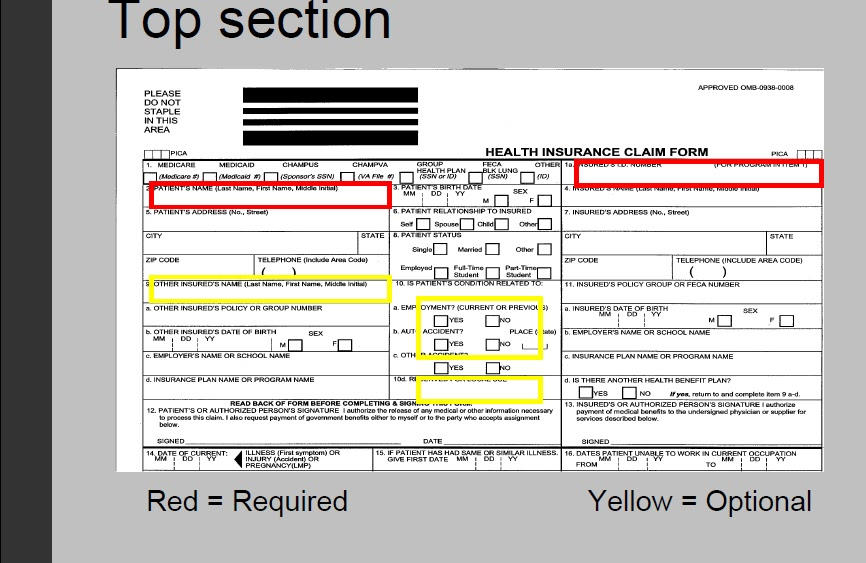 Cms  Image Top Section  Cms  Claim Form And Ub  Form