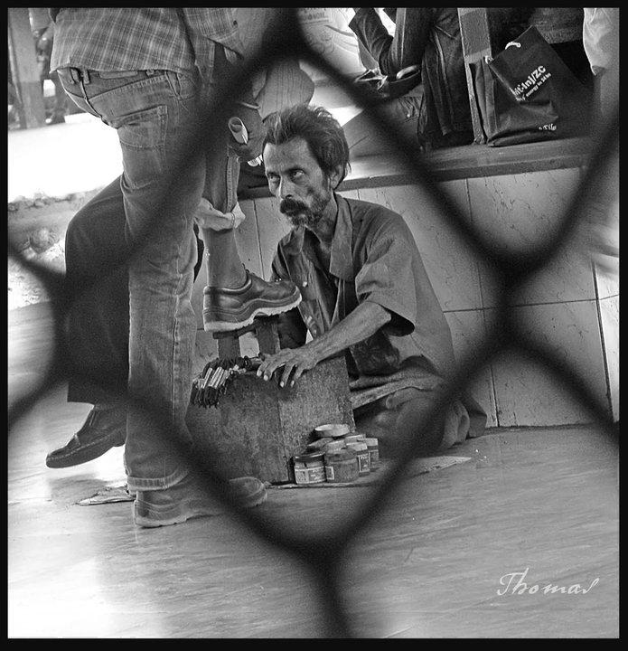 cobbler at station