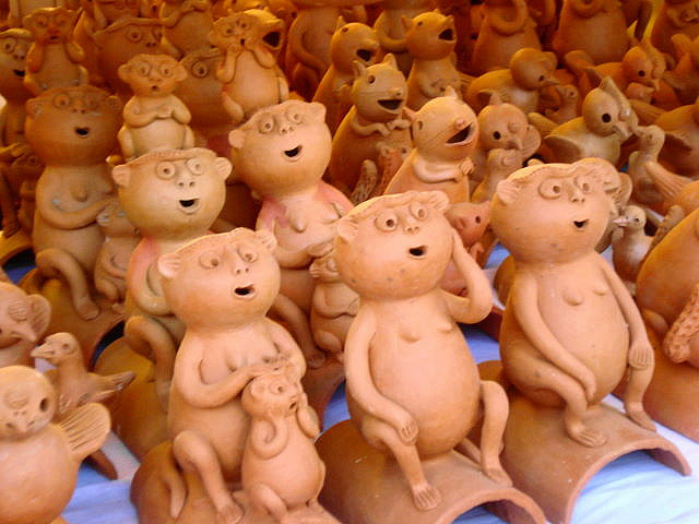terracotta figurines