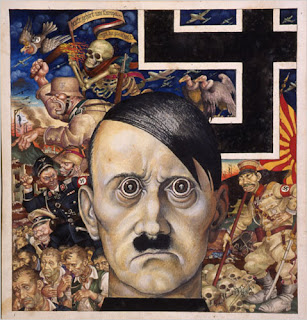 Arthur Syzk - Anti-Christ (1942) shows Hitler as the Anti-Christ