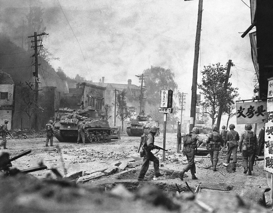 the history of the korean war The impact of the 38th parallel on the history of the korean peninsula  one  upshot of the korean war was the creation of the demilitarized.