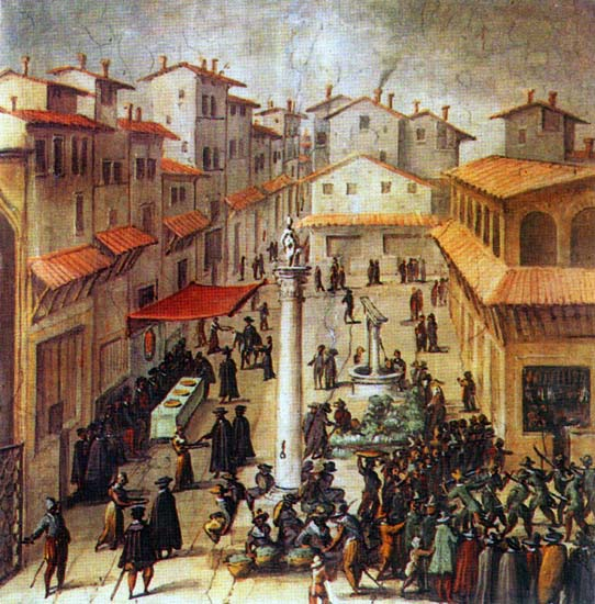florences market in the renaissance essay Sacrilege and redemption in renaissance florence: the case of antonio rinaldeschi (essays and studies, vol 8) [william j connell, giles constable] on amazoncom free shipping on qualifying offers in florence, in the summer of 1501, a man named antonio rinaldeschi was arrested and hanged after throwing.