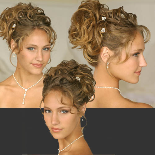 spring hairstyles 2005. Wedding Hairstyle Short Hair Modern updo hairstyle
