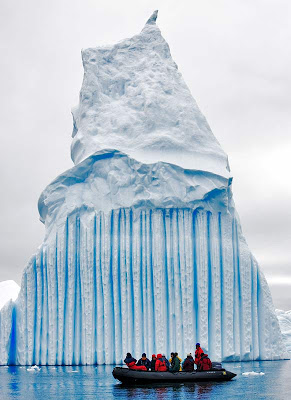 Icebergs in Antarctic