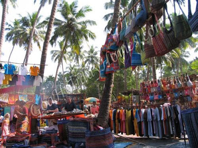 flea market-Anjuna Beach