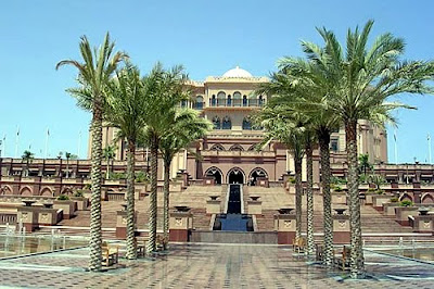 Emirate Palace in Abu Dhabi