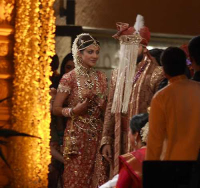 Shilpa and Raj Kundra marriage photos