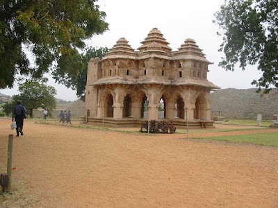 Lotus Mahal or Zenana, Karnataka Tourism