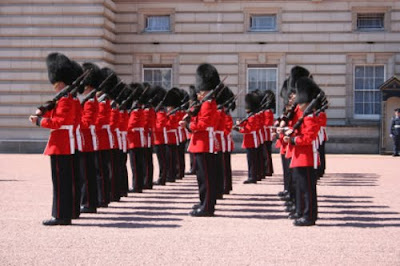 Buckingham Palace, London Changing Guard Ceremony