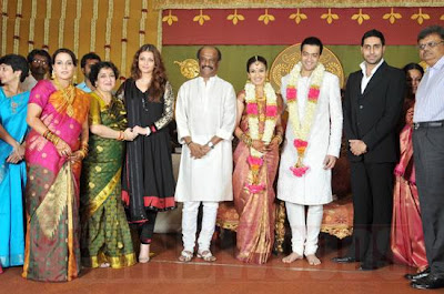 rajinikanth daughter soundarya marriage photos