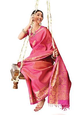 RMKV Silk Sari designs
