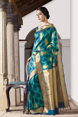 Bridal Seven Silk Sari designs