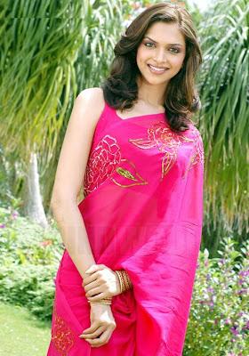 Deepika Padukone sari stills