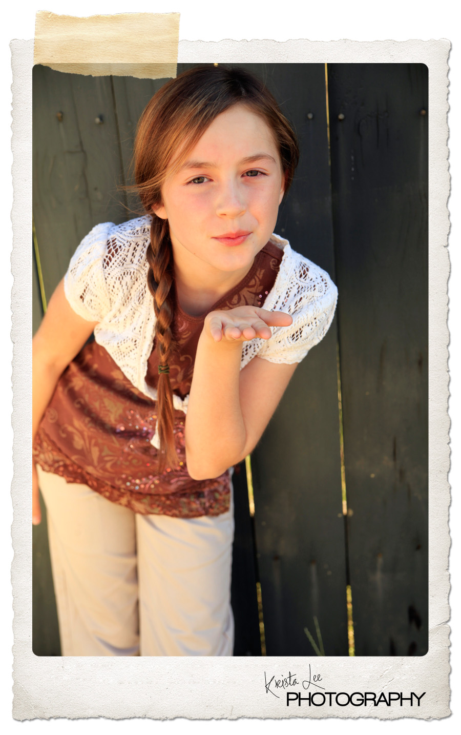 Morgen Snoddy's previews :Children's modeling shoot