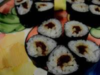 Flower-shaped kanpyo maki