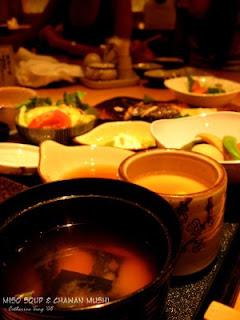 Miso Soup & Chawan Mushi