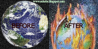 global warming global warning mother earth before and
