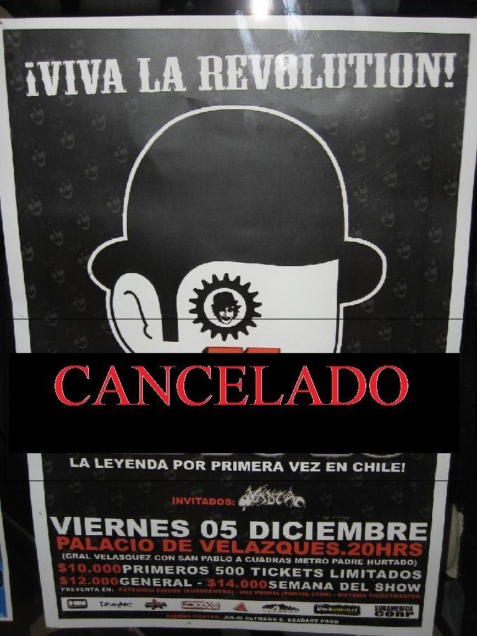 The Adicts canceló su gira por Sudamérica  [Punk]